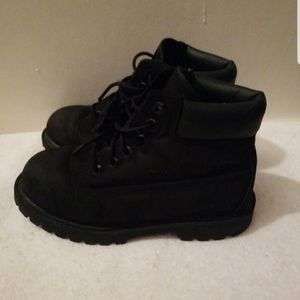 TIMBERLAND BEAUTIFUL BLACK BOOTS FOR BOY